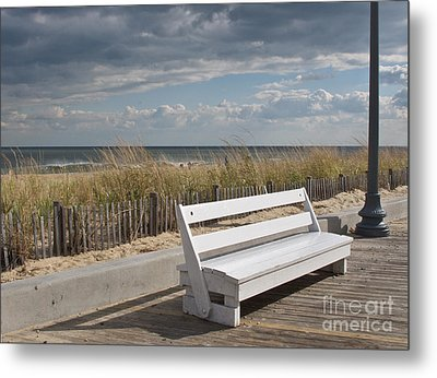 Bench Warmer Metal Print