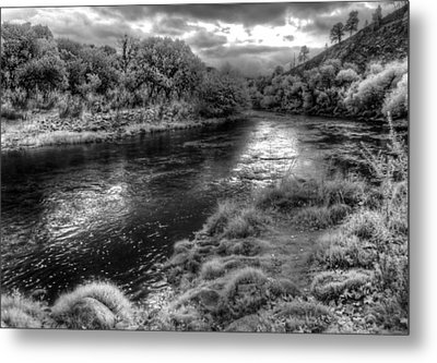 Bend In The River Metal Print