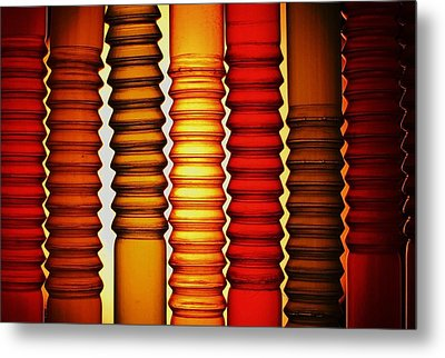 Metal Print featuring the photograph Bendy Straws by John King