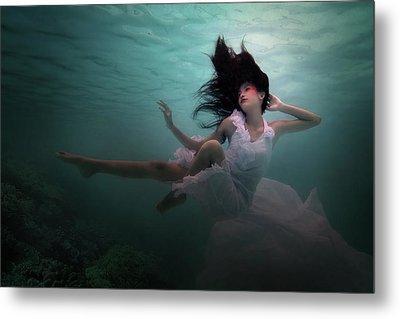 Beneath The Sea Metal Print by Martha Suherman
