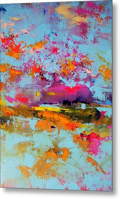 Beneath The Surface Metal Print by Sally Kelly