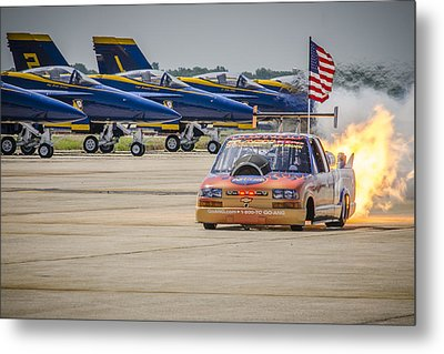 Metal Print featuring the photograph Bennie And The Jets by Bradley Clay