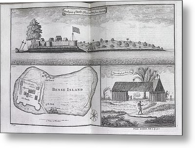 Bense Island Metal Print by British Library