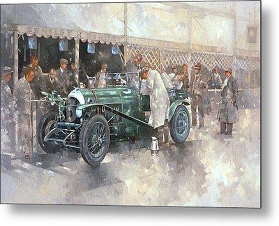 Bentley Old Number 7 Metal Print by Peter Miller