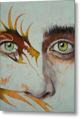 Beowulf Metal Print by Michael Creese