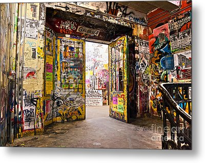 Berlin - The Kunsthaus Tacheles Metal Print by Luciano Mortula
