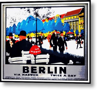 Berlin 1925 Metal Print by Unknown