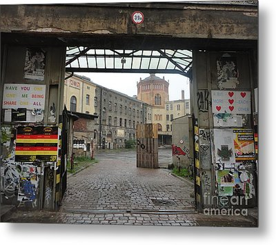 Berlin Architecture No.02 Metal Print by Gregory Dyer