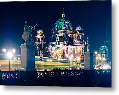 Berlin Cathedral - Festival Of Lights 2013 Metal Print by Alexander Voss