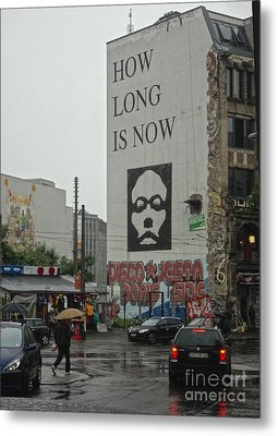 Berlin - How Long Is Now Metal Print by Gregory Dyer