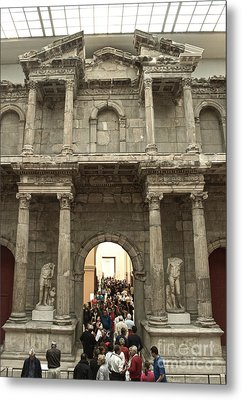 Berlin - Pergamon Museum - No.02 Metal Print by Gregory Dyer