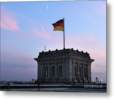 Berlin - Reichstag Roof - No.01 Metal Print by Gregory Dyer