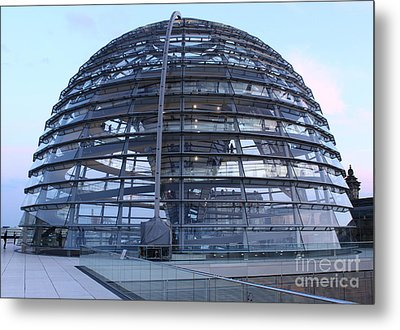 Berlin - Reichstag Roof - No.02 Metal Print by Gregory Dyer