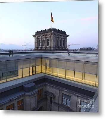 Berlin - Reichstag Roof - No.04 Metal Print by Gregory Dyer