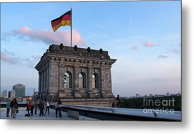 Berlin - Reichstag Roof - No.09 Metal Print by Gregory Dyer