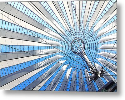 Berlin - Sony Center  Metal Print