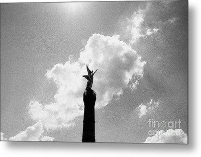 Berlin Victory Column Metal Print