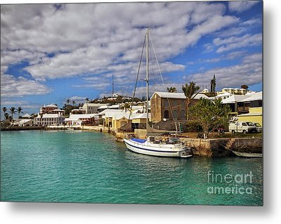 Bermuda St George Harbour Metal Print by Charline Xia