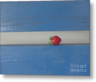 Berry Blues Metal Print by Christina Verdgeline