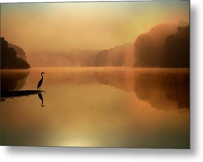 Beside Still Waters Metal Print by Rob Blair
