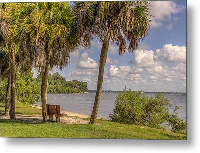 Metal Print featuring the photograph Beside The Shore by Jane Luxton
