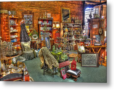 Best Antique Store On The Planet In Greensboro Metal Print