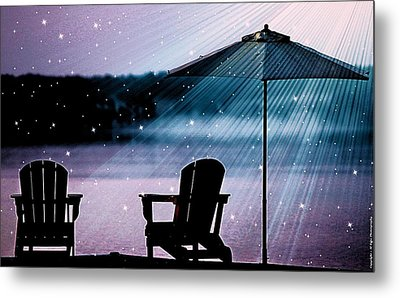 Metal Print featuring the photograph Best Seat In Muskoka by Al Fritz