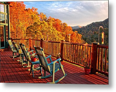 Best View In Town  Metal Print by Lynn Bauer