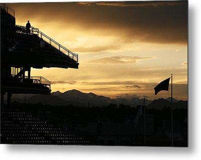 Best View Of All - Rockies Stadium Metal Print by Marilyn Hunt