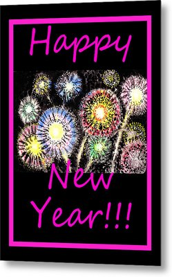 Best Wishes And Happy New Year Metal Print