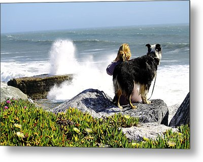 Metal Print featuring the photograph Bestfriends by Theresa Ramos-DuVon