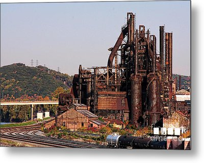 Bethlehem Steel # 8 Metal Print by Marcia Lee Jones