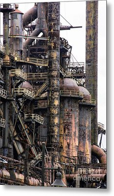 Bethlehem Steel Series Metal Print by Marcia Lee Jones
