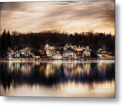 Betrand Island Metal Print by Mark Miller
