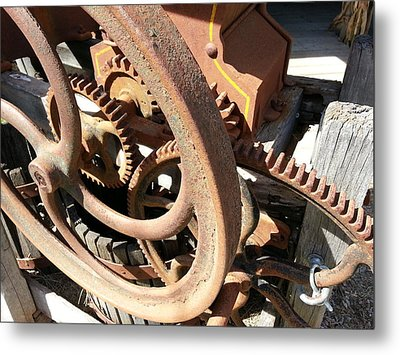 Metal Print featuring the photograph Better Days by Caryl J Bohn