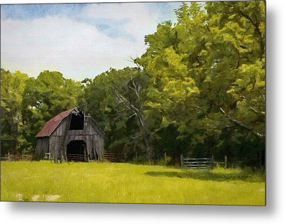 Metal Print featuring the painting Better Days by Jeff Kolker