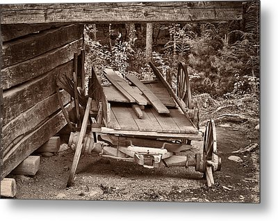 Metal Print featuring the photograph Better Days by Tyson and Kathy Smith