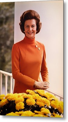 Betty Ford 1974 Metal Print