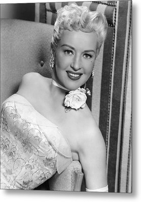 Betty Grable In How To Marry A Millionaire  Metal Print