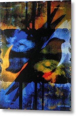 Between The Worlds Metal Print by Linda Marcille