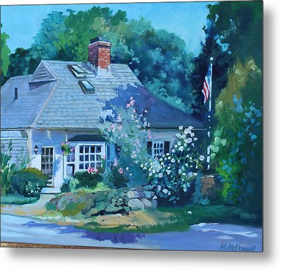 Beverly Cove Metal Print by Michael McDougall