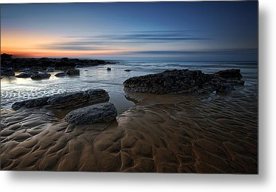 Bexhill Sunrise Metal Print by Mark Leader