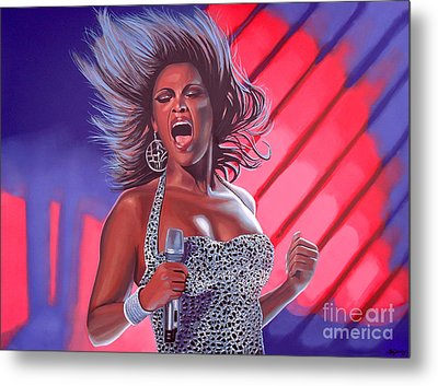 Beyonce Metal Print by Paul Meijering