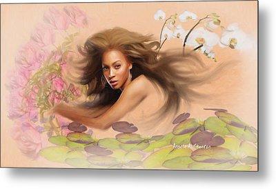 Beyonce's Dream Metal Print by Angela A Stanton