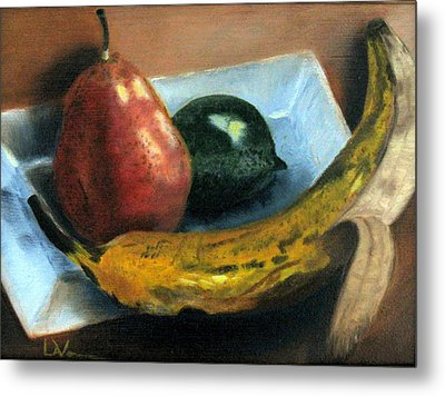 Beyond Banana Nut Bread Metal Print by LaVonne Hand