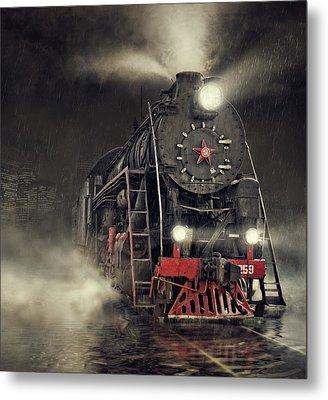 Beyond Express Metal Print by Dmitry Laudin