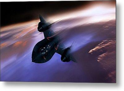 Beyond Mach 3 Metal Print by Peter Chilelli
