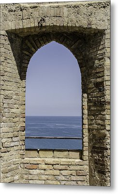 Beyond The Gate Of Infinity Metal Print by Andrea Mazzocchetti