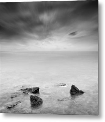 Beyond The Horizon Metal Print by Taylan Apukovska