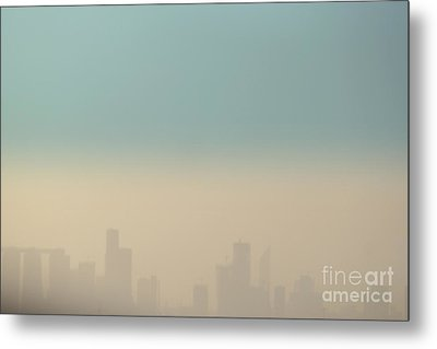 Beyond The Horizon Metal Print by Vishakha Bhagat